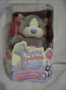 Carte Blanche 8inch takling Blue Nose Friend hamster peanuts